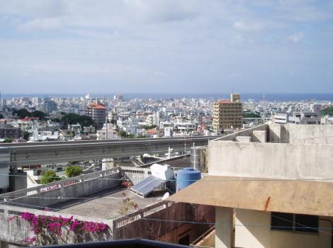 沖縄 那覇市 首里汀良町 海が見える高級賃貸物件 ライオンズマンション汀良