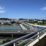 那覇大橋とモノレールと小禄駅