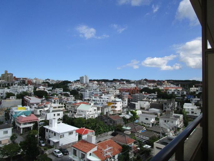 首里城の見える中古マンション